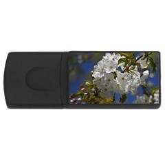 Cherry Blossom 1GB USB Flash Drive (Rectangle)
