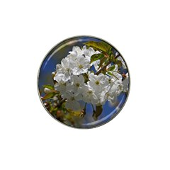 Cherry Blossom Golf Ball Marker (for Hat Clip)