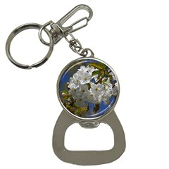 Cherry Blossom Bottle Opener Key Chain