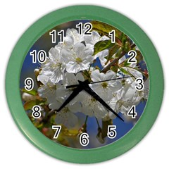 Cherry Blossom Wall Clock (Color)