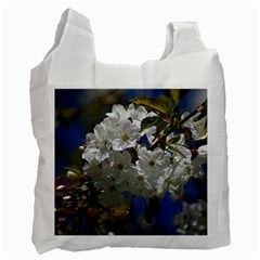 Cherry Blossom Recycle Bag (One Side)