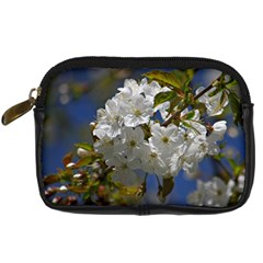Cherry Blossom Digital Camera Leather Case