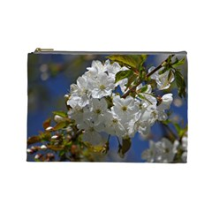 Cherry Blossom Cosmetic Bag (large)