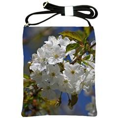Cherry Blossom Shoulder Sling Bag