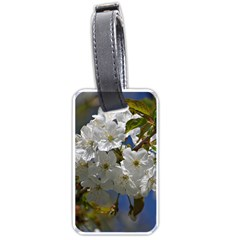 Cherry Blossom Luggage Tag (Two Sides)