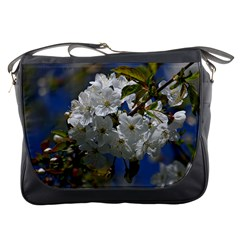 Cherry Blossom Messenger Bag