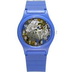 Cherry Blossom Plastic Sport Watch (Small)