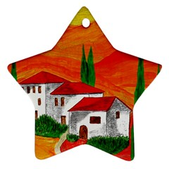 Mediteran Star Ornament