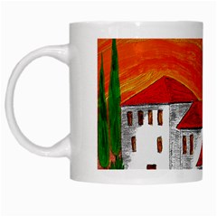 Mediteran White Coffee Mug