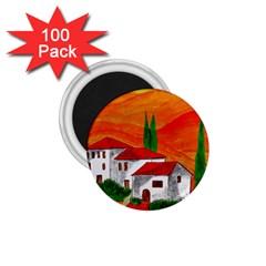 Mediteran 1 75  Button Magnet (100 Pack)