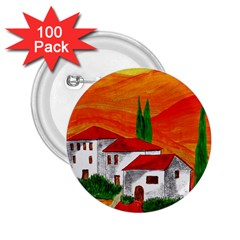 Mediteran 2.25  Button (100 pack)