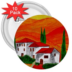 Mediteran 3  Button (10 pack)