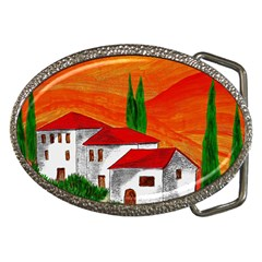 Mediteran Belt Buckle (Oval)
