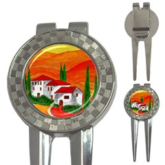 Mediteran Golf Pitchfork & Ball Marker