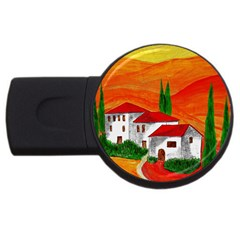 Mediteran 2GB USB Flash Drive (Round)