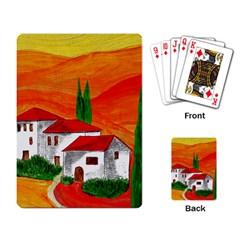 Mediteran Playing Cards Single Design