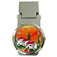 Mediteran Money Clip with Watch