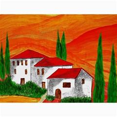 Mediteran Canvas 18  x 24  (Unframed)