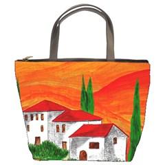 Mediteran Bucket Handbag