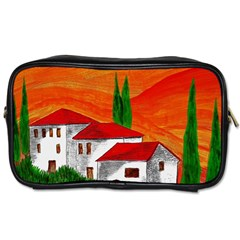 Mediteran Travel Toiletry Bag (Two Sides)