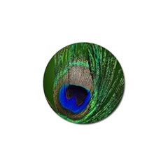 Peacock Golf Ball Marker