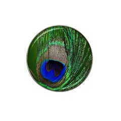 Peacock Golf Ball Marker (for Hat Clip)
