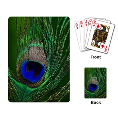 Peacock Playing Cards Single Design