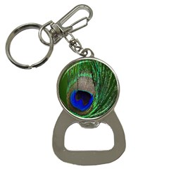 Peacock Bottle Opener Key Chain
