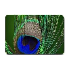 Peacock Small Door Mat