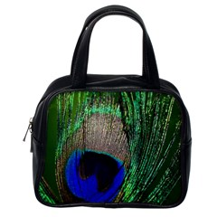Peacock Classic Handbag (One Side)