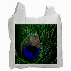 Peacock Recycle Bag (Two Sides)