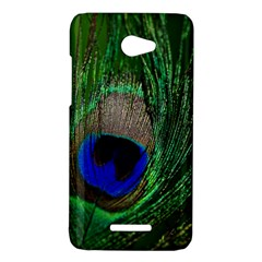 Peacock HTC Butterfly (X920e) Hardshell Case