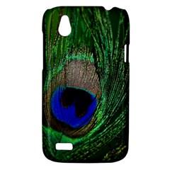 Peacock HTC T328W (Desire V) Case