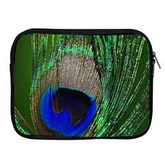 Peacock Apple iPad Zippered Sleeve