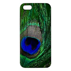 Peacock iPhone 5S Premium Hardshell Case