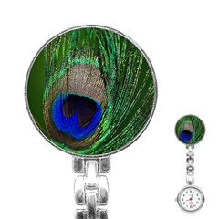 Peacock Stainless Steel Nurses Watch