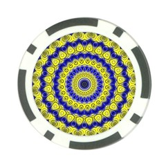 Mandala Poker Chip