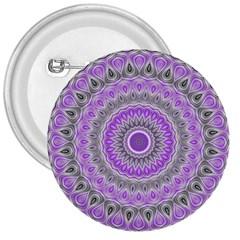 Mandala 3  Button