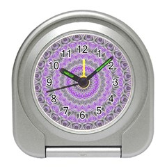 Mandala Desk Alarm Clock