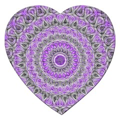 Mandala Jigsaw Puzzle (Heart)