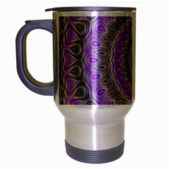 Mandala Travel Mug (Silver Gray)