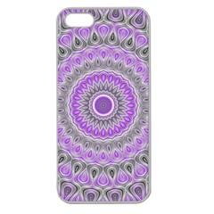Mandala Apple Seamless iPhone 5 Case (Clear)