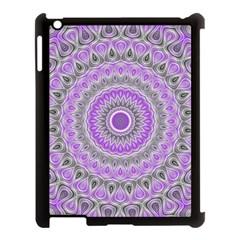 Mandala Apple iPad 3/4 Case (Black)