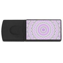 Mandala 2GB USB Flash Drive (Rectangle)