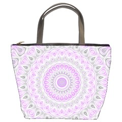 Mandala Bucket Handbag