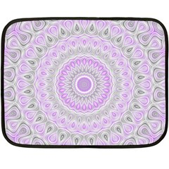 Mandala Mini Fleece Blanket (two Sided)