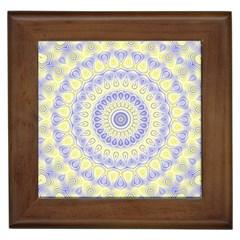 Mandala Framed Ceramic Tile