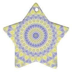 Mandala Star Ornament