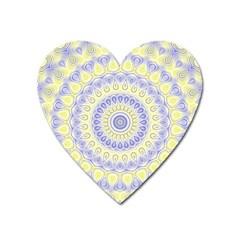 Mandala Magnet (heart)