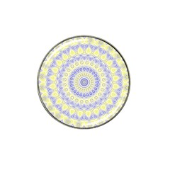 Mandala Golf Ball Marker (for Hat Clip)